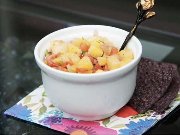 Fresh Pineapple Salsa - A Fit 4 You